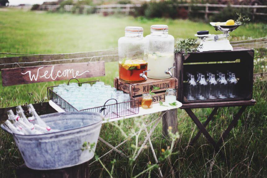 wedding party bartenders Bath