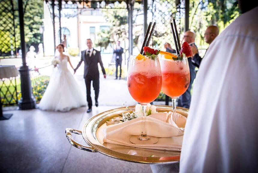 wedding party cocktail bar Somerset