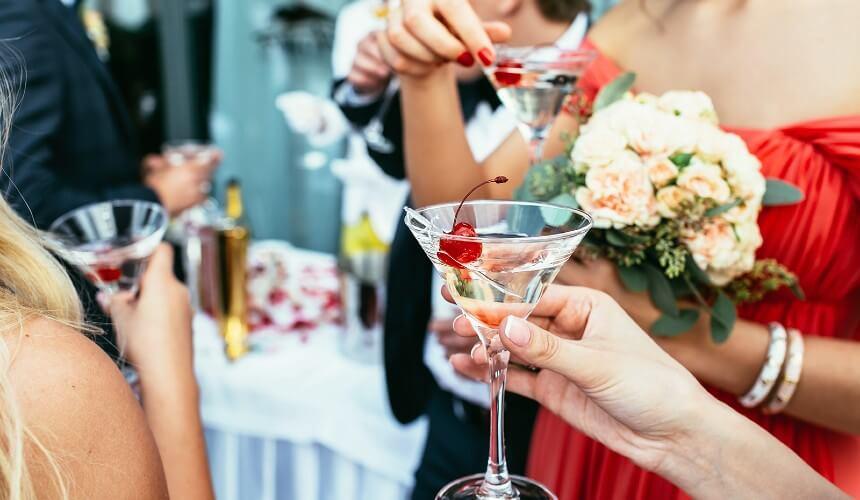 wedding party cocktails Bath
